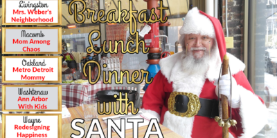 Breakfast, Lunch, & Dinner with Santa in Oakland County 2018