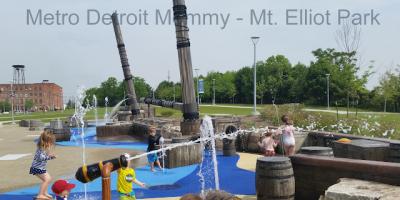 Mt. Elliott Park in Detroit