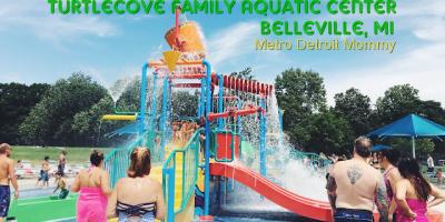 TurtleCove Family Aquatic Center in Belleville, MI