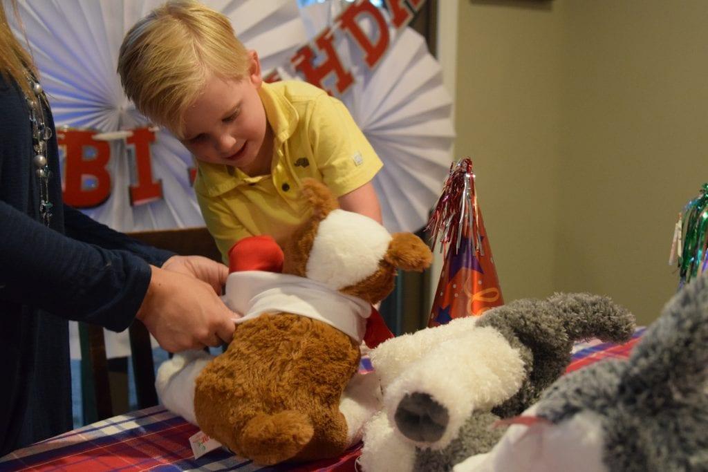 Teddy Bear Mobile, Birthday Party Ideas, Stuffed Animals, Oakland County Party Ideas