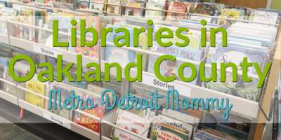 Library Locations in Oakland County
