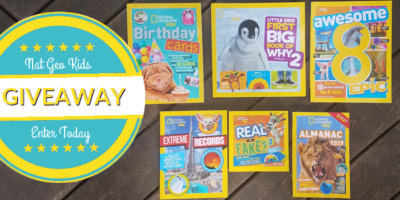 Last Minute Birthday Gifts From National Geographic Kids {giveaway ends 11/6/18}