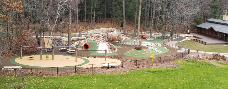 ADA Playground at Whiting Forest