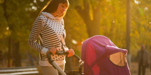 Five Simple Stroller Exercises for New Moms