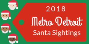 Santa Sightings in 2018