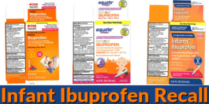 Infant Ibuprofen Recalled