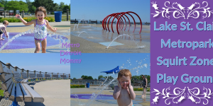 Lake St. Clair Metropark - Splash Pad