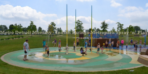 Indian Springs Metropark's Spray 'n' Play - White Lake