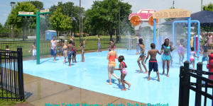 Handy Park Splash Park in Redford