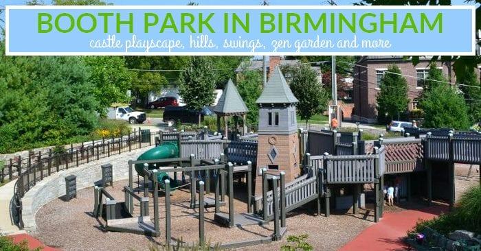 Booth Park in Birmingham