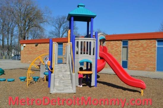 toddler playground at Greenleaf Park