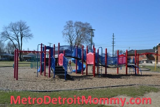 play structure at Edmonson Elementary/Greenleaf Park