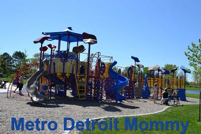 Stony Creek Metropark – Eastwood Beach and Play Structure