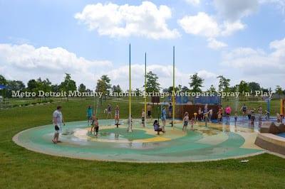 Indian Springs Metropark's Spray 'n' Play – White Lake