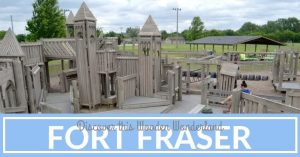 Discover this Wooden Wonderland Fort Fraser at Steffens Park