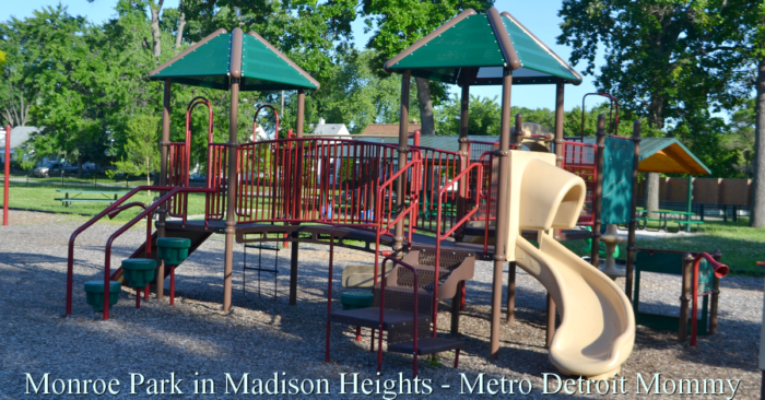 Monroe Park in Madison Heights