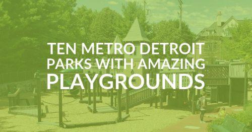 park in Metro Detroit