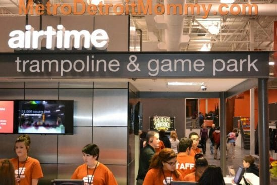 New AirTime Trampoline & Game Park in Canton/Westland