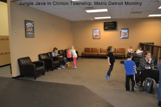 Jungle Java in Clinton Township Lounge