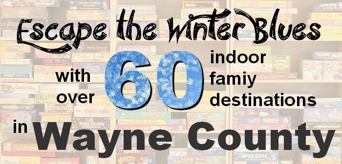 Indoor play spaces in Wayne County