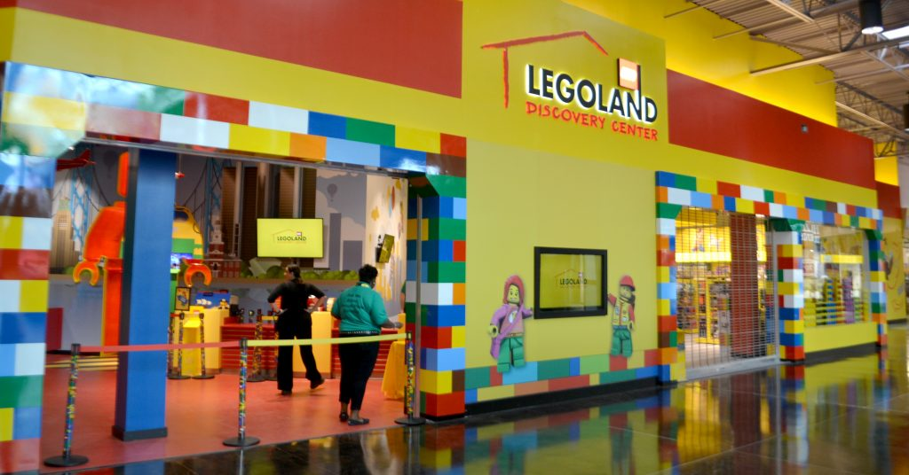 Legoland Discovery Center Michigan Store Front