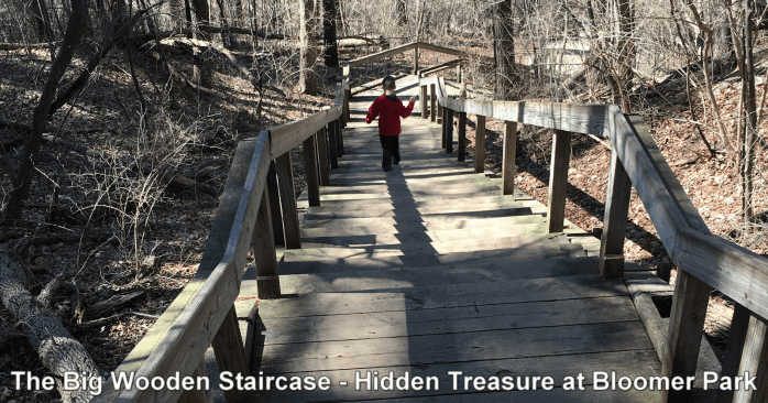 The Big, Wooden Staircase: Hidden Treasure at Rochester Hills' Bloomer Park