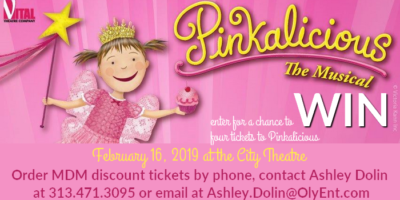 Pinkalicious The Musical is coming to the City Theatre Giveaway {ends 2/10/19}