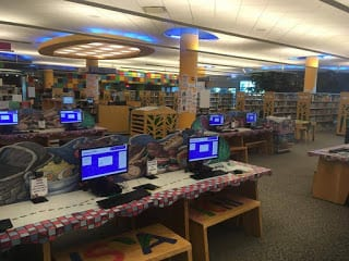 computers at Southfield Public Library