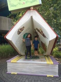 The Secret Garden at Southfield Public Library