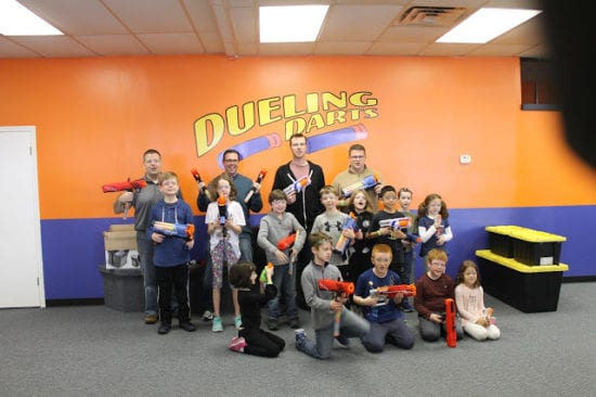 Are you raising a Nerf fanatic? Book a birthday party at Dueling Darts