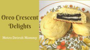 Oreo Crescent Delights Recipe