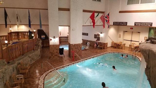 Waterfall Pool Bavarian Inn Lodge