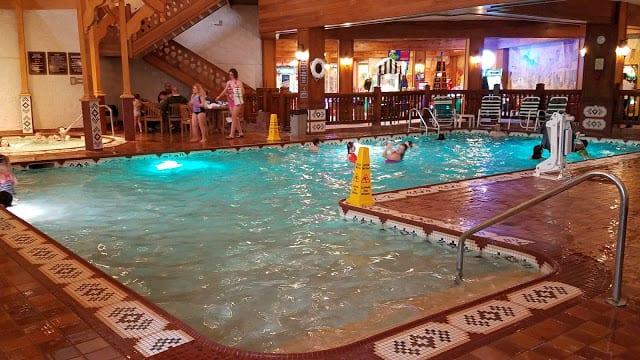 Family Center Pool Bavarian Inn Lodge
