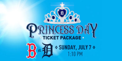Princess Day at Comerica Park