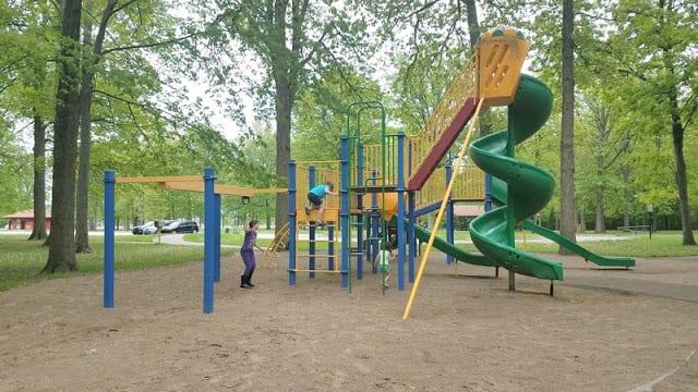 playground at Raintree Park
