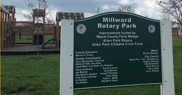 Millward Park in Allen Park