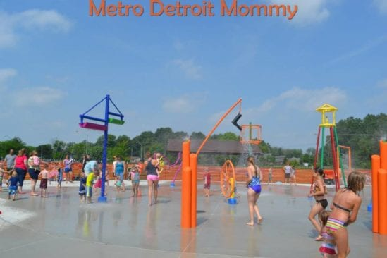 New Baltimore Splash Pad
