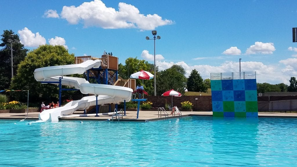 The pool in Southfield.