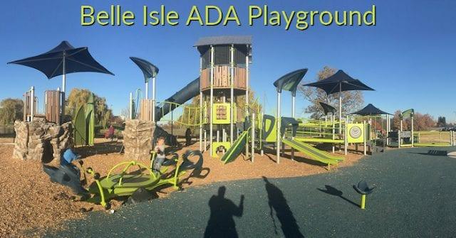 Belle Isle ADA Playground on Oakway Run