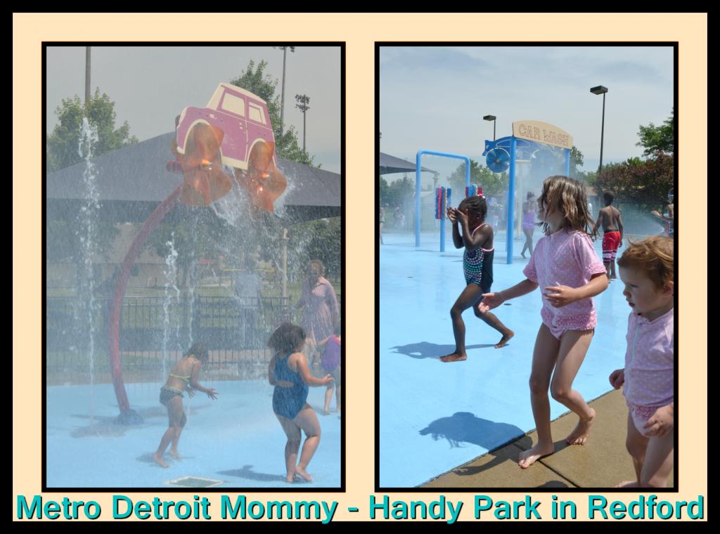 Handy Park Splash Pad
