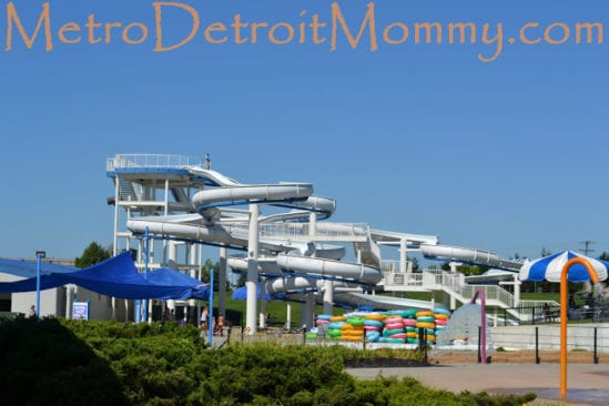 Red Oaks Waterpark in Madison Heights