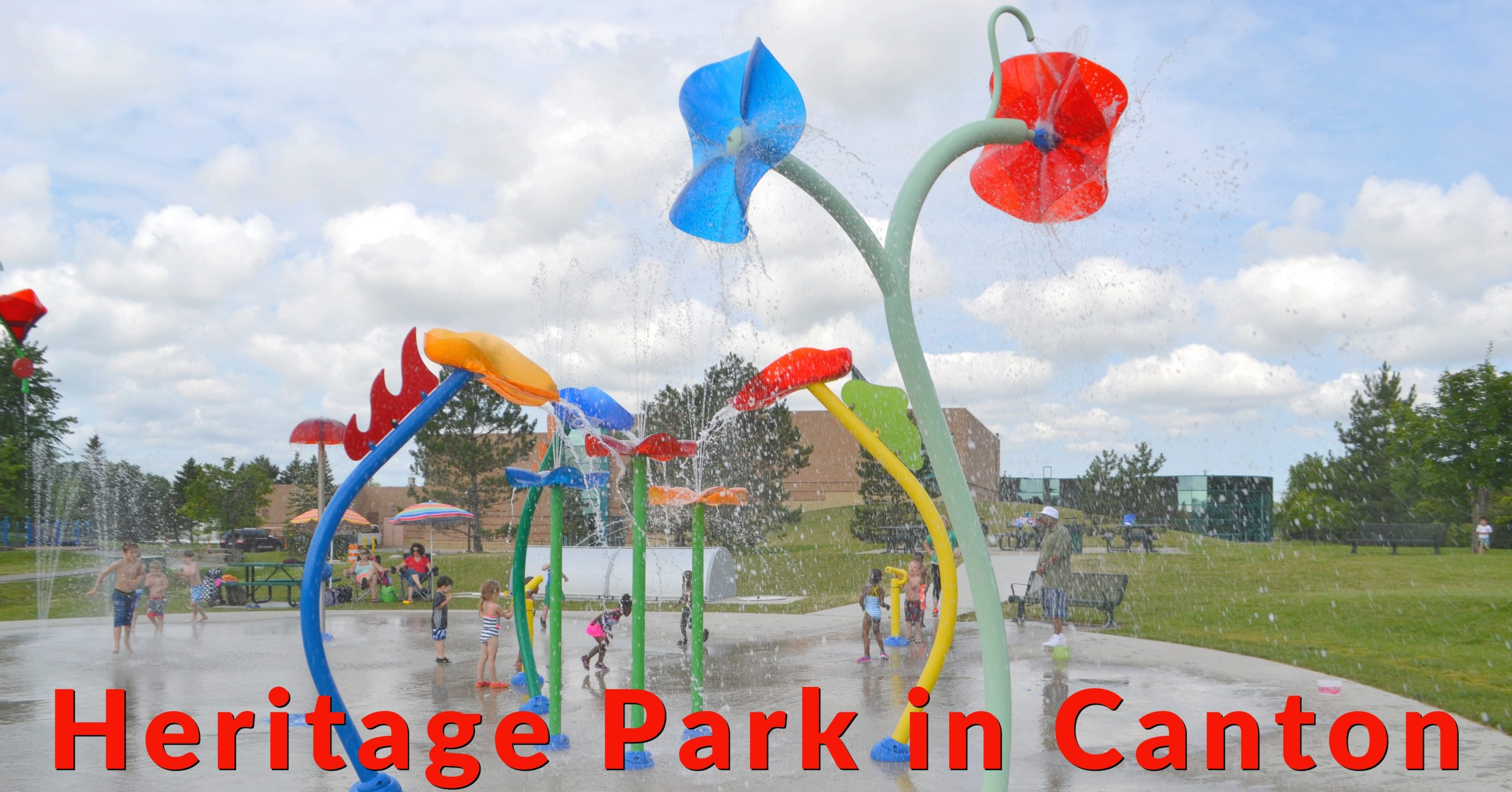Canton Heritage Park – Splash Pad and Playground