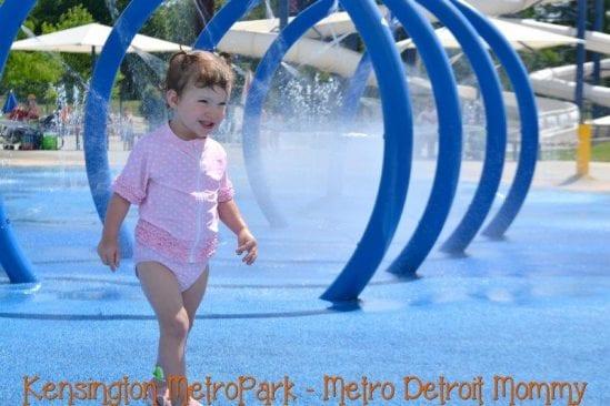 Kensington Metropark – Splash 'n' Blast Splash Pad
