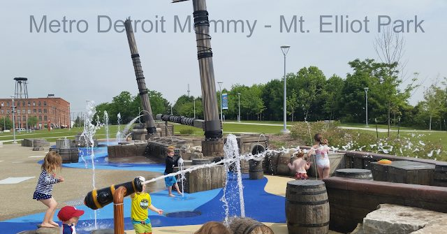 Mt. Elliot Park Splash Pad