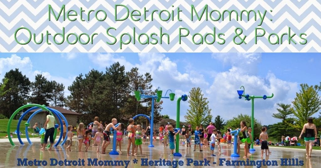 Splash Pads in Metro Detroit