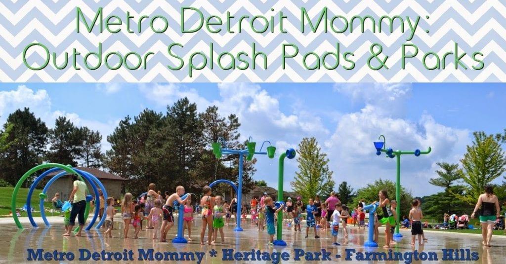 Metro Detroit Splash Pads