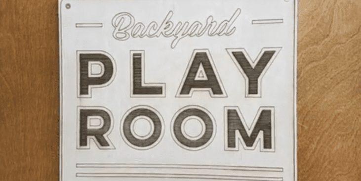 Backyard Playroom