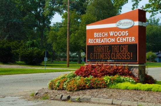 Beech Woods Park in Southfield Visitor's Guide and Photos