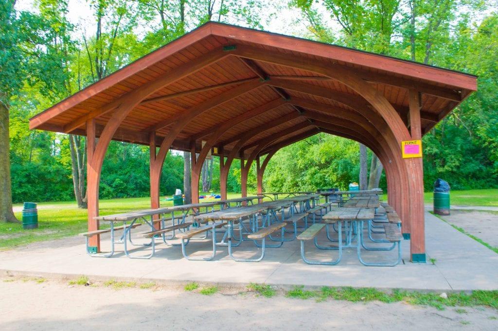 Beech Woods Park in Southfield