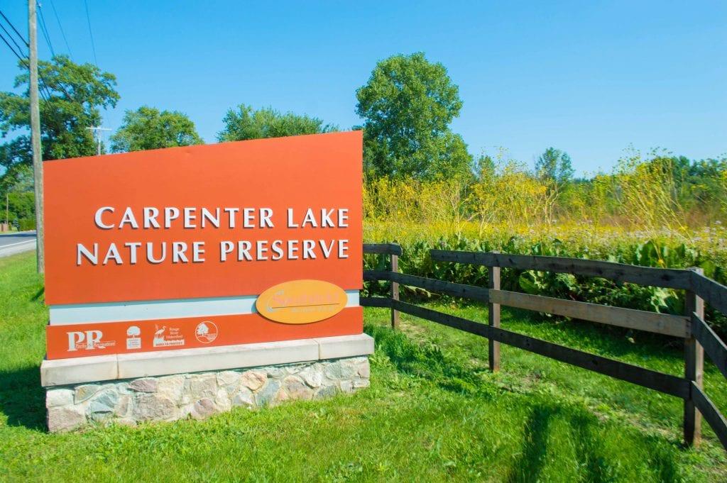 carpenter lake nature preserve metro detroit mommy
